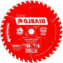 Diablo by Freud D0641X 6-1/2 by 40 Finishing Saw Blade 5/8""
