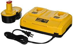 Dewalt DC9320BP 7.2V - 18V Multi-Voltage Dual Port Charger w