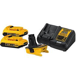 Dewalt DCA2203C 20V MAX Lithium-Ion Battery Adapter Kit for
