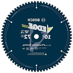 Bosch DCB1072CD 10 In. 72 Tooth Edge Circular Saw Blade for