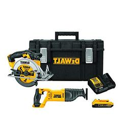 DEWALT DCKTS253D1 Tool Saw Combo in Tool Box/with Charger &