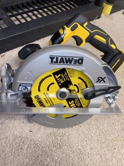 "DeWalt DCS570B 20V MAX XR BRUSHLESS 7-1/4"" Circular Saw wi"