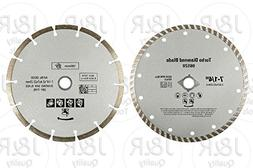 "2 Pack Diamond 7-1/4"" Saw Blades Fits Bosch Circular Saw"