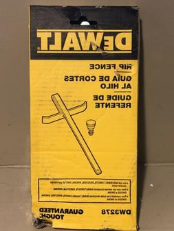 Dewalt DW3278 Cutting Guide Rip Fence  For Use With All Dewa