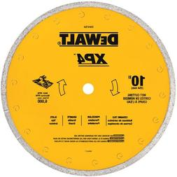 DEWALT DW4764 10-Inch by .060-Inch Premium XP4 Tile Blade We