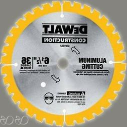 DEWALT DW9152 6-1/2-Inch 36 Tooth Aluminum Cutting Saw Blade