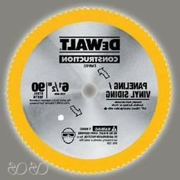 "Dewalt DW9153 Circular Saw Blade, 6-1/2"" X 0.039""T,90 Teeth,"