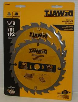 DEWALT DW9196 6-1//2-Inch 40T Cutting Precision Finishing Saw Blade New