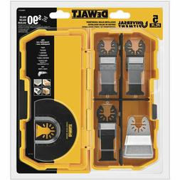 DEWALT DWA4216 5-Piece Oscillating Accessory Kit