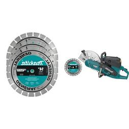 Makita EK7301X1 14-Inch Power Cutter with 4 Contractor Diamo