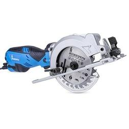 Electric Compact Circular Saw Corded 4-1/2 Small Drive Dust