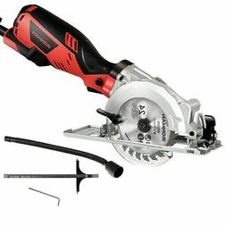 "Electric Mini 4-1/2"" Circular Saw 3500 RPM Handheld Cutting"