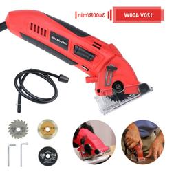 Electric Mini Circular Saw Handheld Metal Grinder Cutting Po