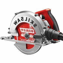 Skilsaw Fiber Cement Circular Saw- 7 1/4in 15 Amp Model# SPT