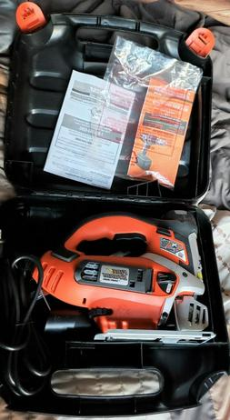 FireStorm Black & Decker Orbital Scrolling Jig Saw FS5500JSL