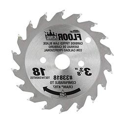 Floor King™ 33818 Carbide Tipped Saw Blade Comparable to C