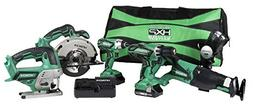 Hitachi KC18DG6LPA 18V Cordless Combo Kit