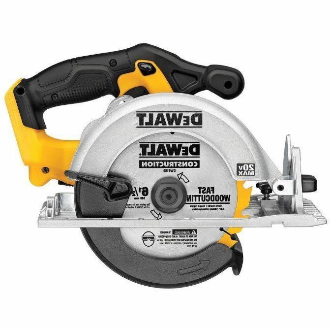 Dewalt 20-Volt Lithium-Ion Cordless 6-1/2 in Circular Saw