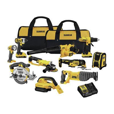 20v max lithium ion 10 tool combo