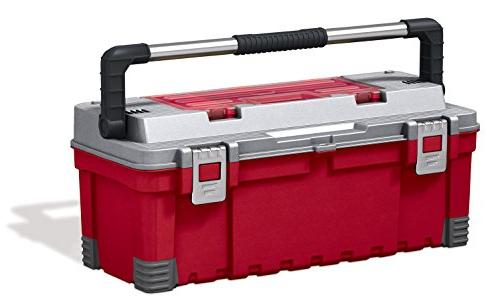 Keter 25 Portable Rolling Tool & Utility Cart, /