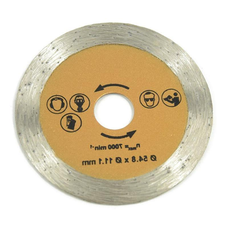 3 Pcs 54.8mm HSS Wood Circular Cutting Disc Blade Rotary