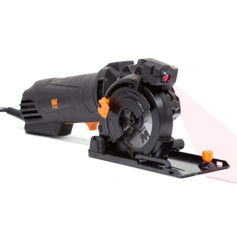 "4.2 3-3/8"" Plunge Cut Circular Saw with Carrying Case"