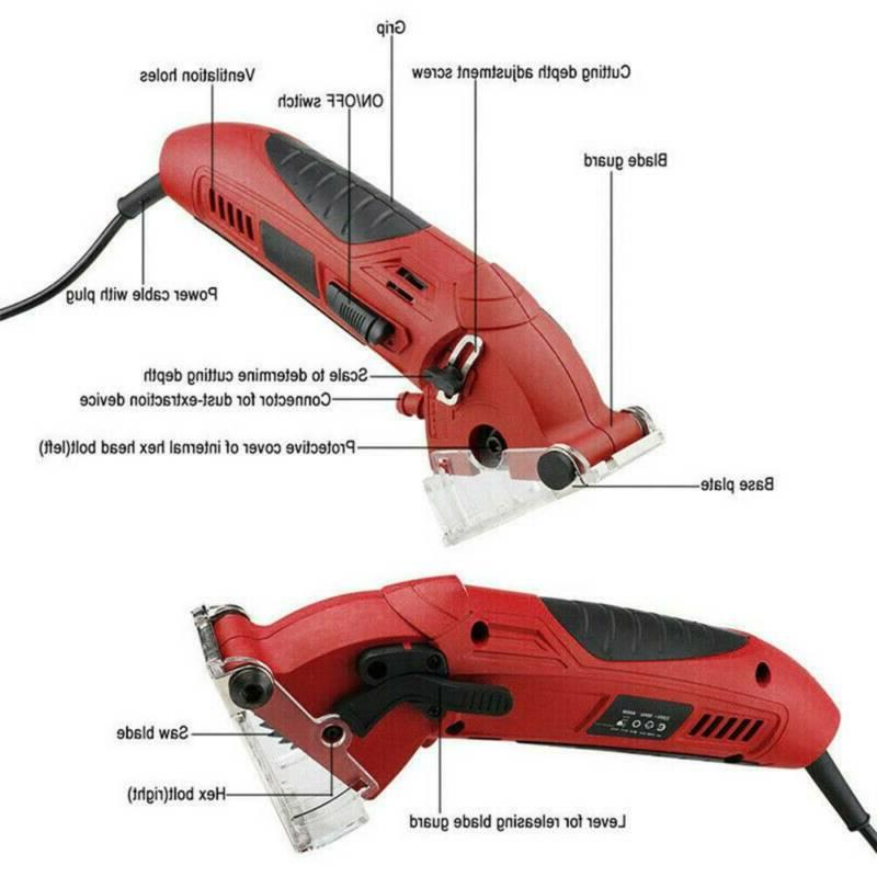 Mini Laser Circular Saw Hand Held Grinder Kit 3