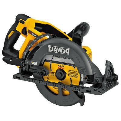 DEWALT 60V MAX in. Worm Drive Style Saw New