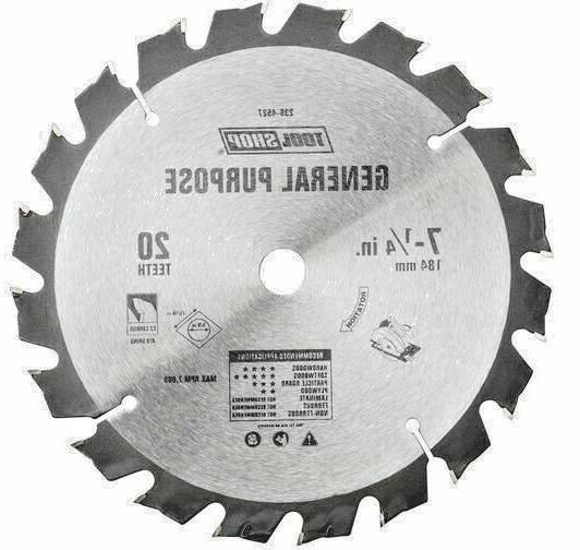 7 1 4 20 tooth carbide general