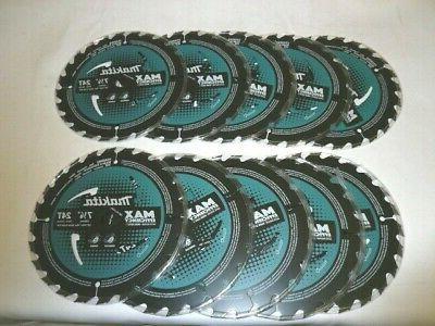 "Makita B-61656-10 7-1/4"" Carbide Circular Saw Blade 10-Pack"