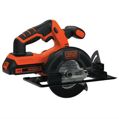 Black Decker 20V Circular Saw BDCCS20C New