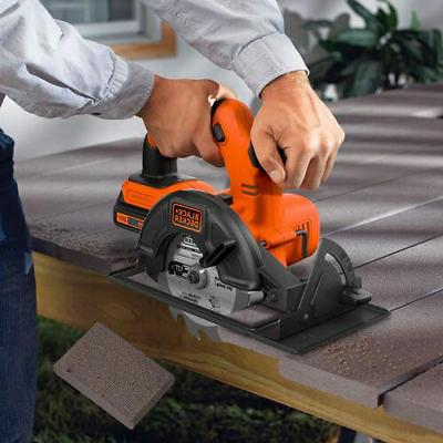 Black and 20-Volt MAX High Cordless Circular Kit