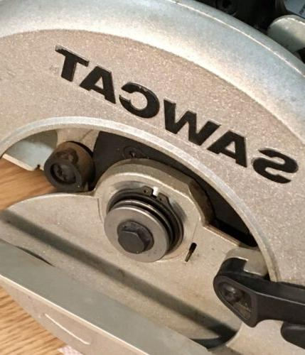 """Black & Saw 7-1/4"""" with and 13A"""