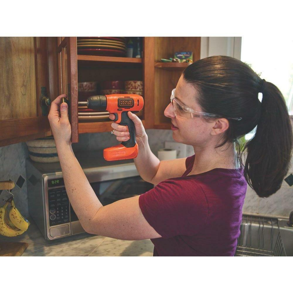 - BLACK+DECKER 8V MAX Lithium Drill SHIPPING-