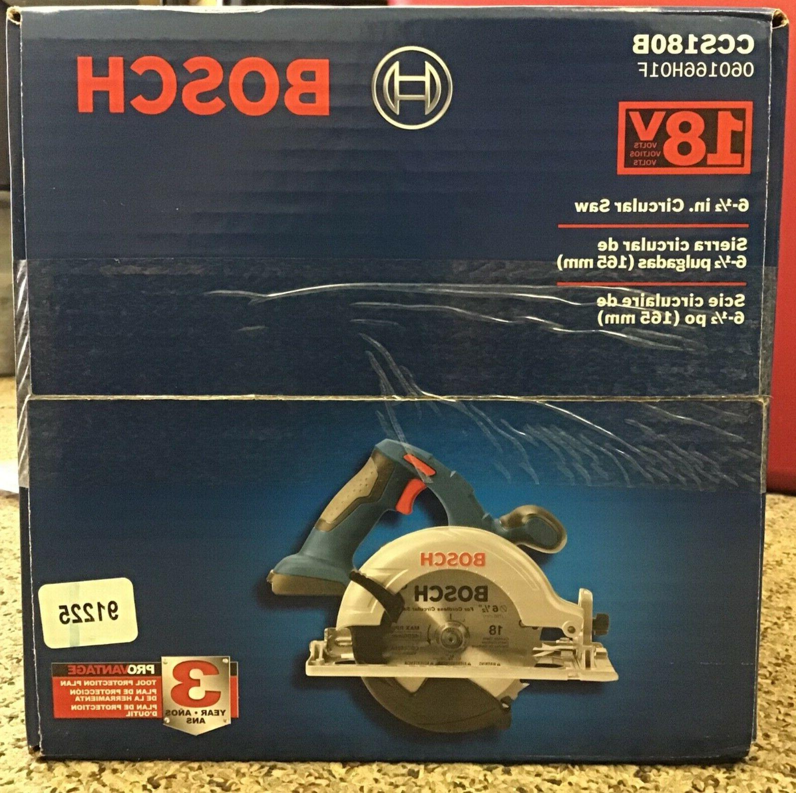 BOSCH CCS180B Cordless Tool Only & SEALED