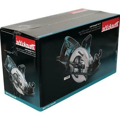 Makita Circular Saw in. 15 Amp Adjustable Depth Worm