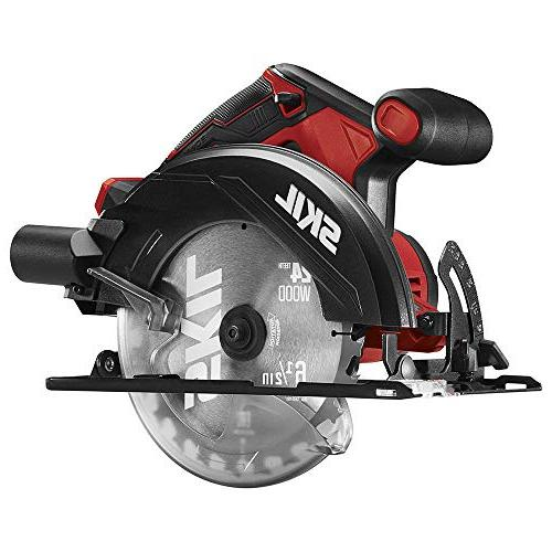SKIL 20V 6-1/2 Circular with LED Light, Tool -
