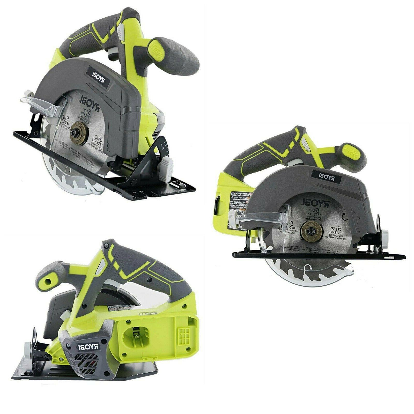 Circular Saw Cordless Battery Powered Hand Power Tool Lithiu
