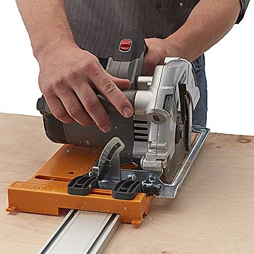 """Bora Circular Plate and Straight Guide . 50"""" and Saw That For Straight, True Cuts"""