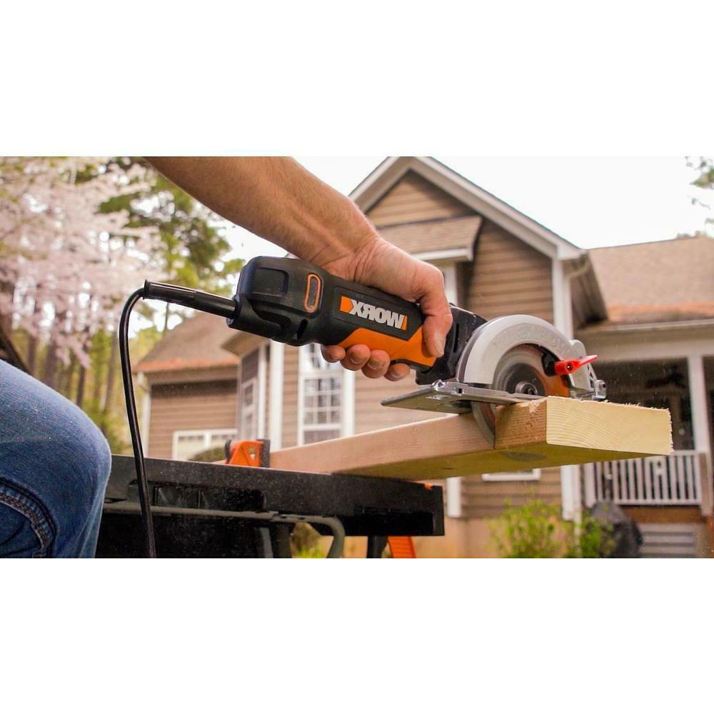 WORX Circular Saw Portable Compact Corded Electric Tool 4 WX429L