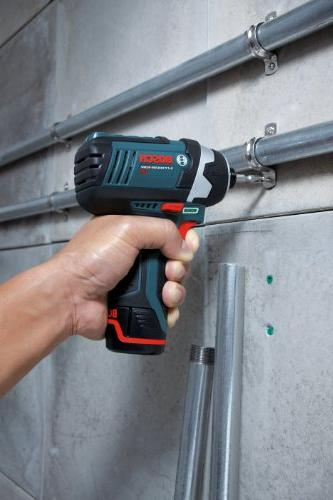 Bosch Tools Drill Kit BC330 - Two-Tool Drill Kit Power Impact Driver, Cordless Drill Set - Includes Drills,