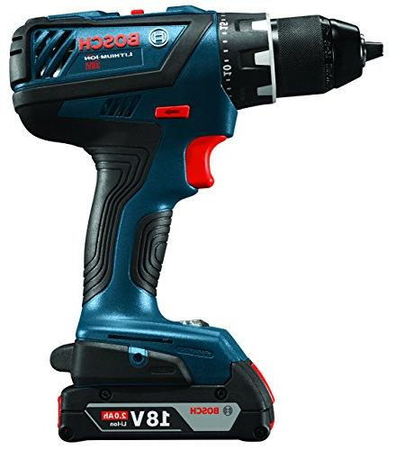 Bosch Power Drill Set Two Cordless Hex Impact Driver, Batteries, Bag For Professional HVAC