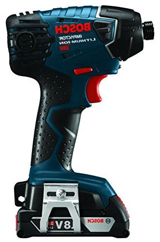 Bosch Set CLPK232A-181 Kit– Includes Compact Drill, Hex Driver, Lithium Batteries, Bag HVAC