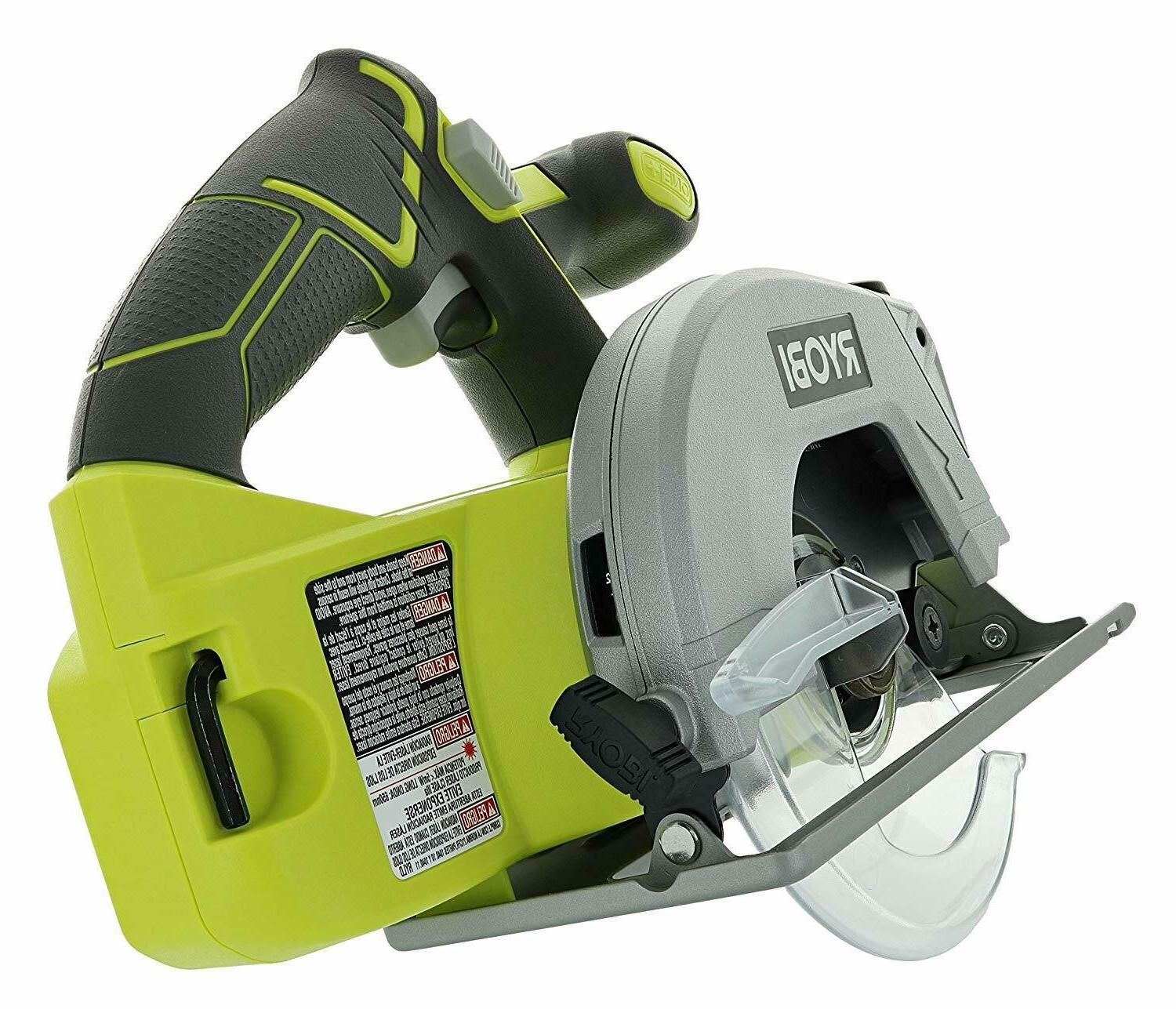 Ryobi Cordless with Guide Blade