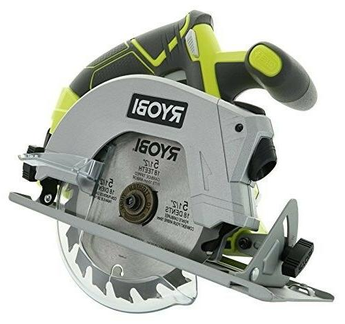 Cordless Saw with Laser Blade