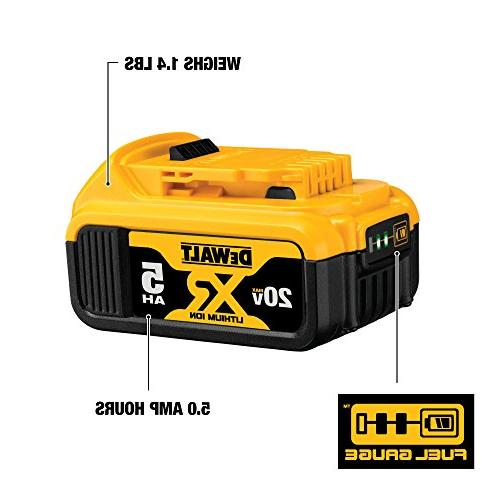 DEWALT DCB205 20V XR Battery-Pack