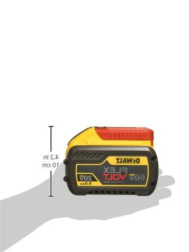 DEWALT MAX FLEXVOLT 9Ah Battery, Pack