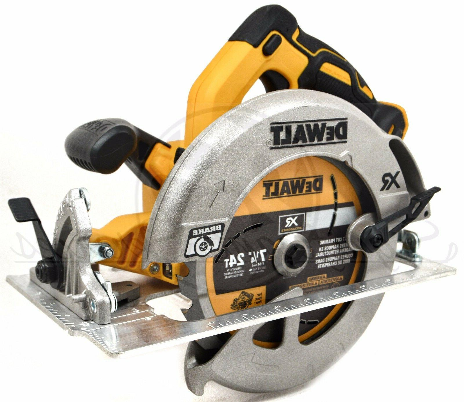 DEWALT MAX XR 5.0 Ah Lithium Cordless Circular Saw Kit