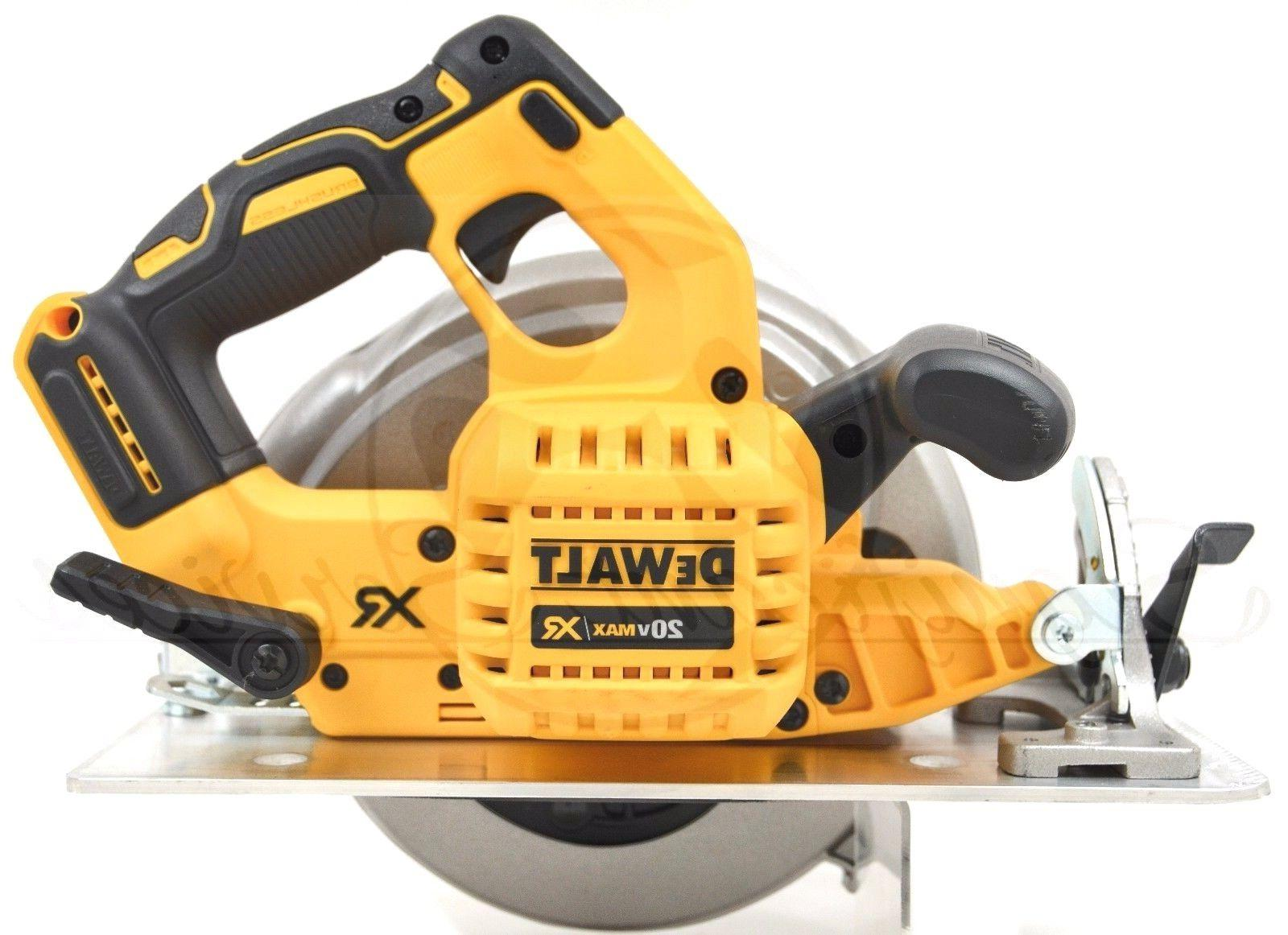 "DEWALT DCS570B 7-1/4"" MAX XR 5.0 Lithium Ion Saw Kit"