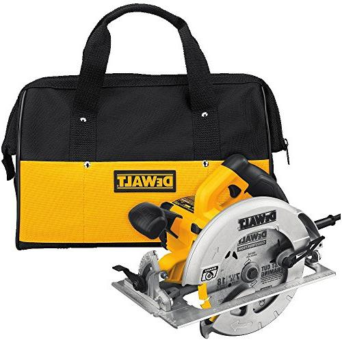 DEWALT Circular Saw with Electric Brake